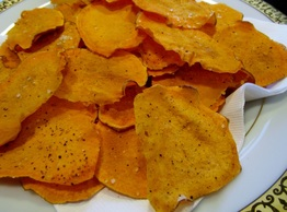 No-Fry Sweet Potato Chips