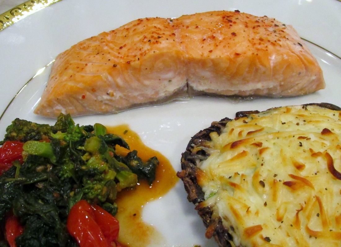 Fish for Dinner: Oven Poached Salmon