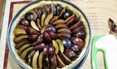 Plum Cake, ready to bake