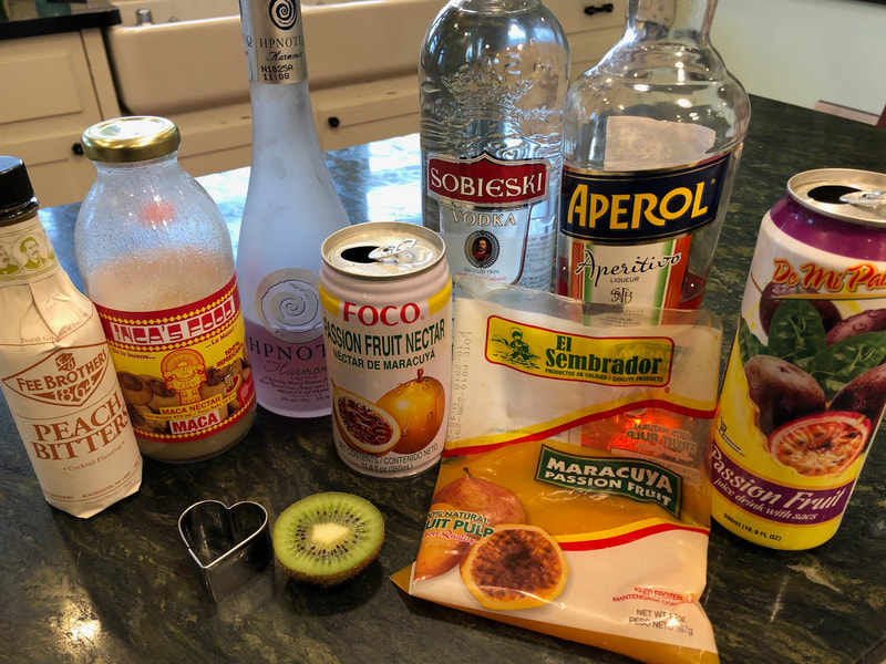 Jealous Heart cocktail - Ingredients