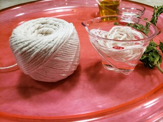 Soak string for Roasted Sea Bass